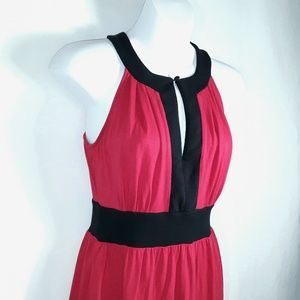 New York & Company Tops - New York & Company Stretch Red Sleeveless Top